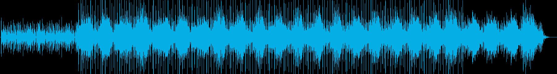 リラックス・映像・解説・ナレーション用の再生済みの波形