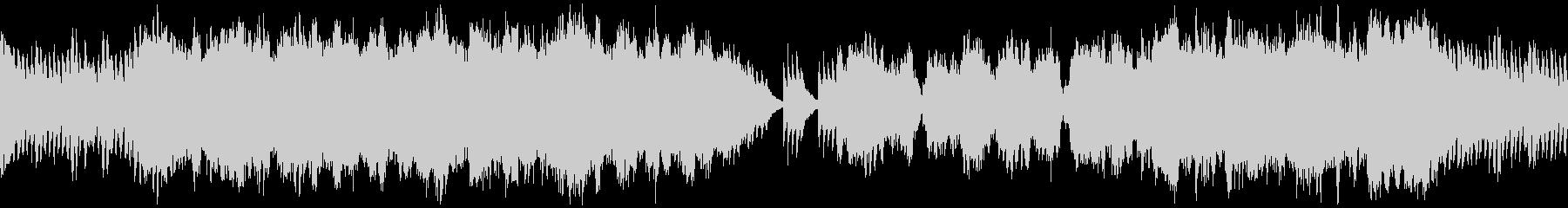 雄大で感動的な和風オーケストラ ループの未再生の波形