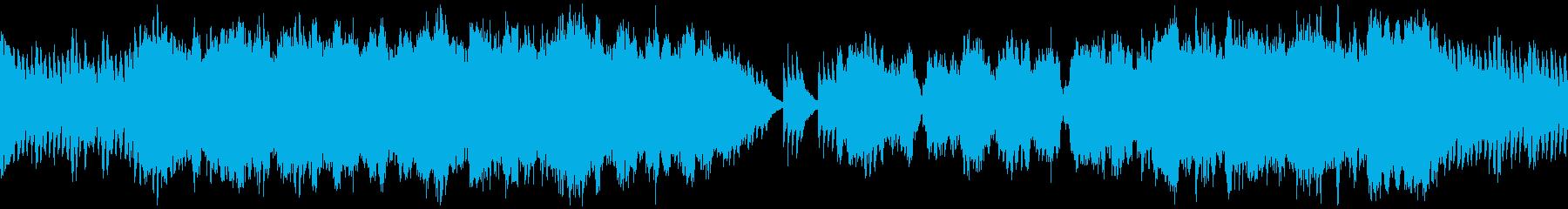 雄大で感動的な和風オーケストラ ループの再生済みの波形