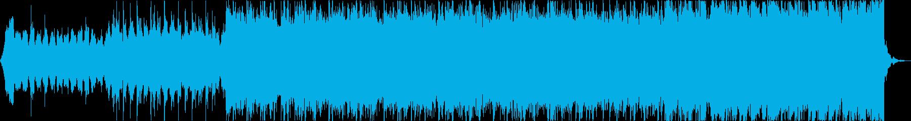 雄大壮大自然海夏EDMトロピカルハウスbの再生済みの波形