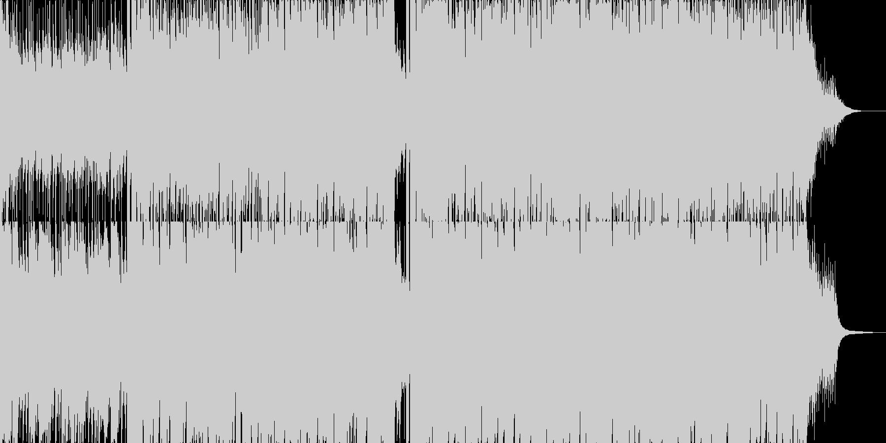 アコギ主体のさわやかなポップスの未再生の波形