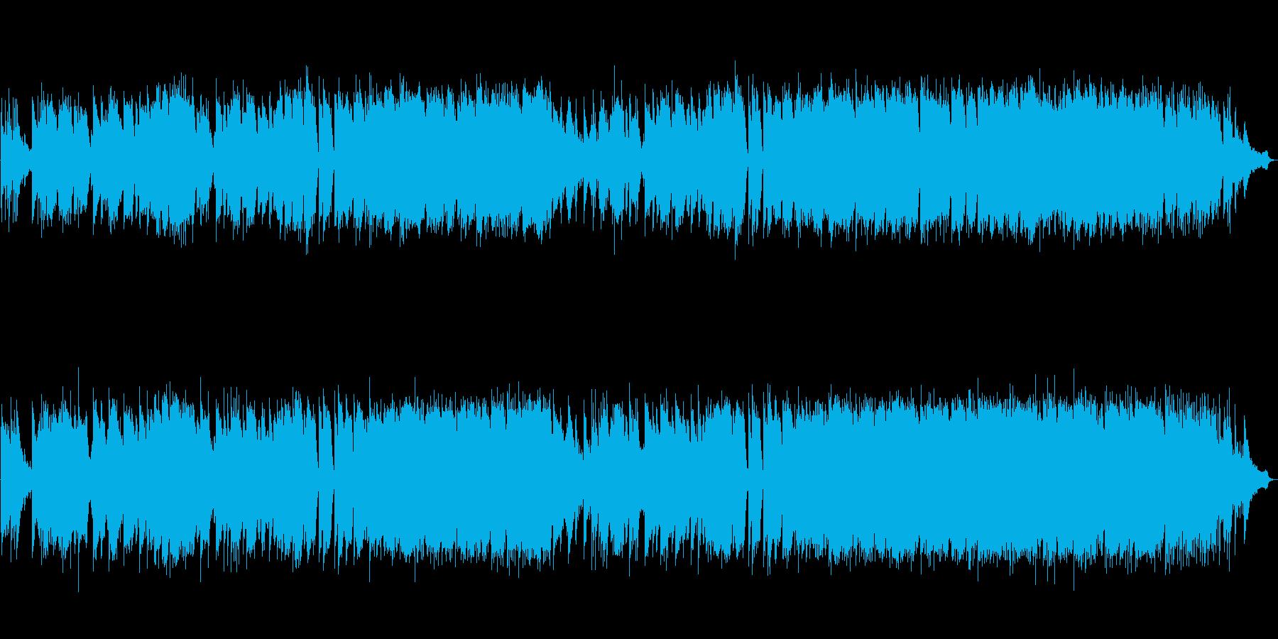 和風 しっとり切ないバラード 尺八生演奏の再生済みの波形