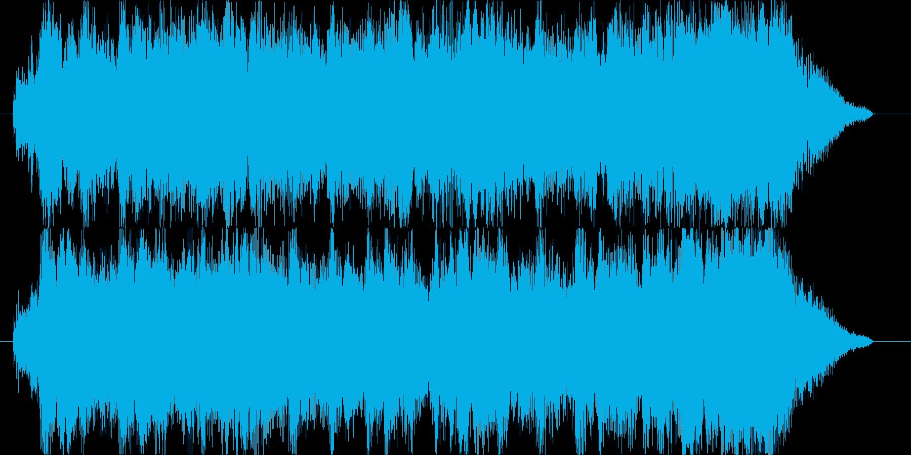 壮大で明るく前向きなオーケストラ/CMの再生済みの波形