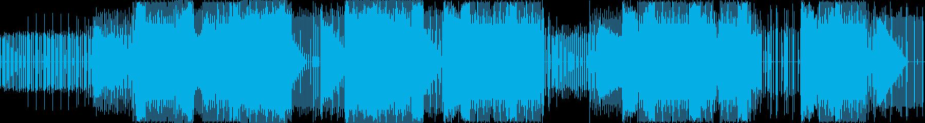 ミニマリスト。ダンス。コンピュータ...の再生済みの波形