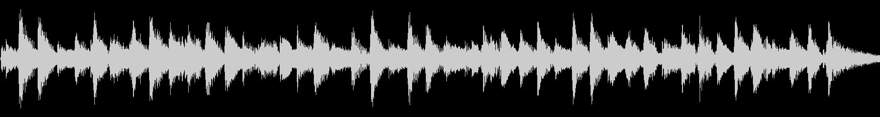 アコギ57/さわやか、20秒ループの未再生の波形