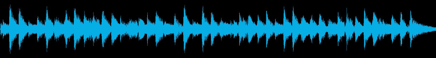 アコギ57/さわやか、20秒ループの再生済みの波形