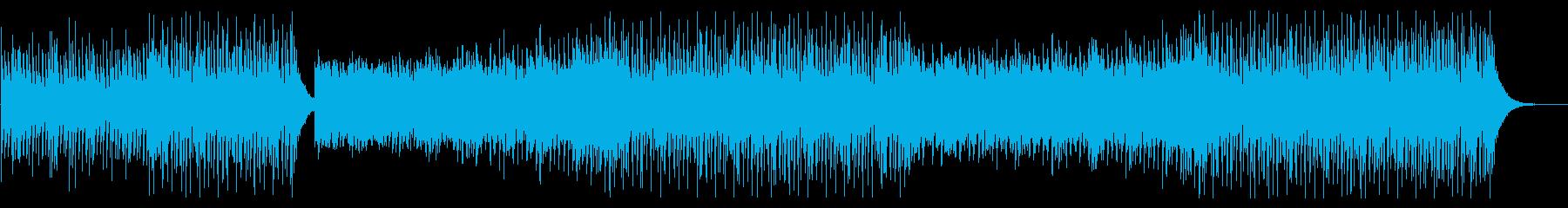 夏にぴったり清涼感のあるトロピカルハウスの再生済みの波形