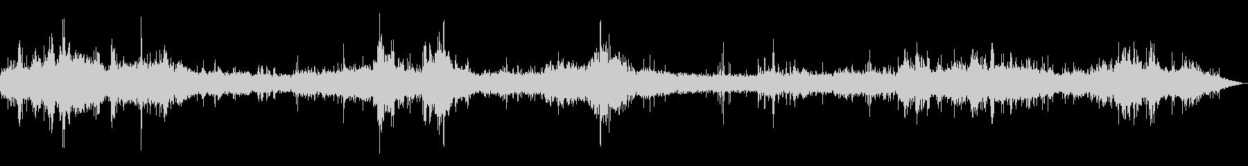 [生録音]台風通過時の室内音01の未再生の波形