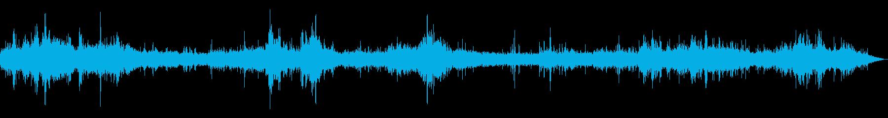[生録音]台風通過時の室内音01の再生済みの波形