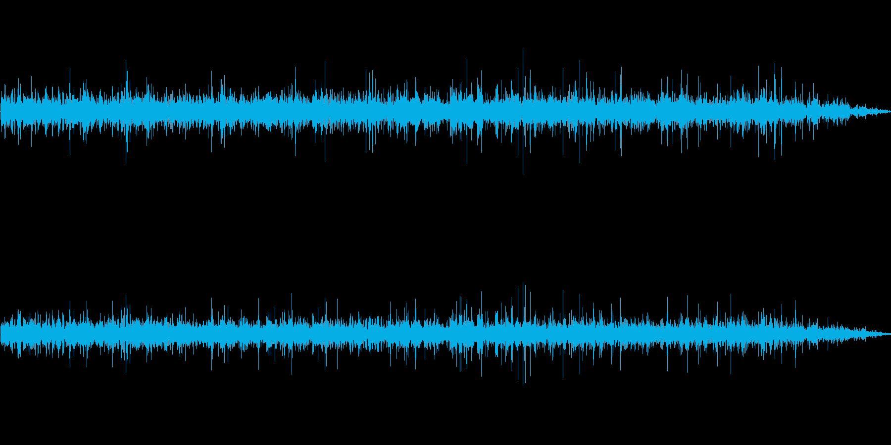 「川の音 (激しい流れ)」の再生済みの波形