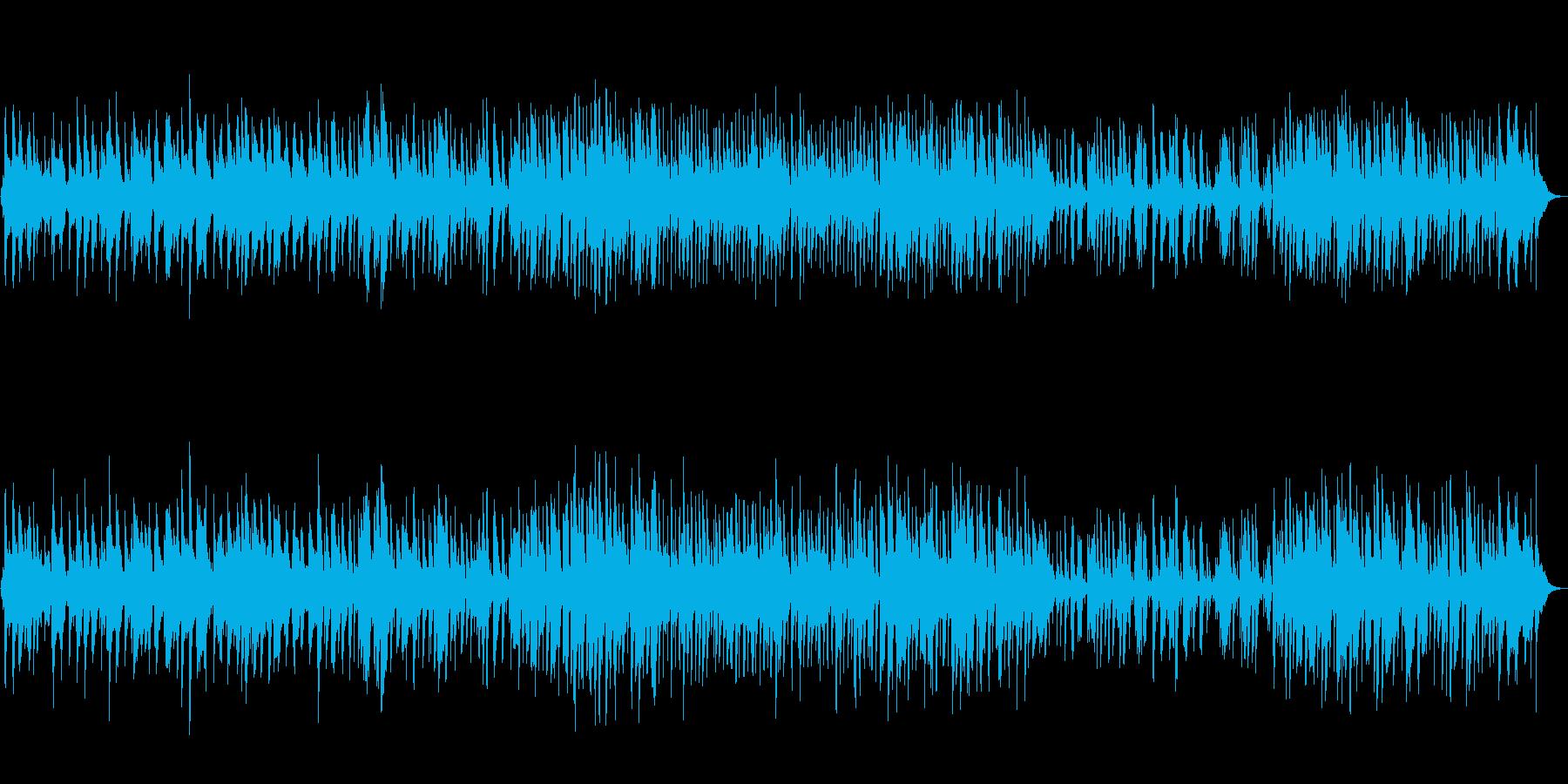 ヴァイオリンの旋律が美しいバラードの再生済みの波形