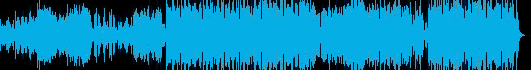 広大な日本神話を連想させるオーケストラの再生済みの波形