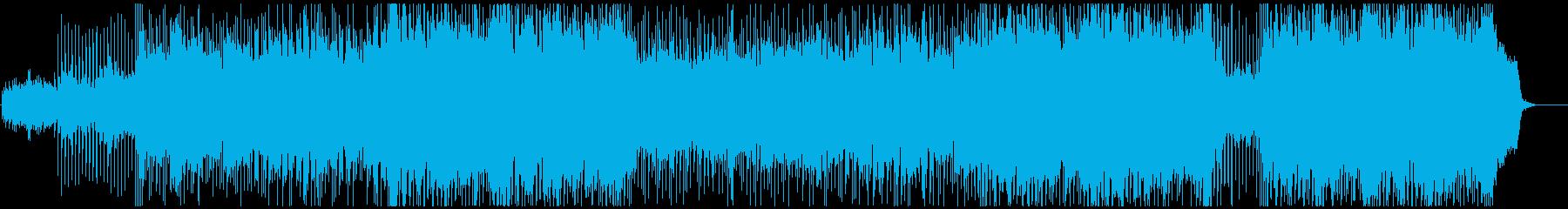 企業VP向け前進的ポップロックの再生済みの波形