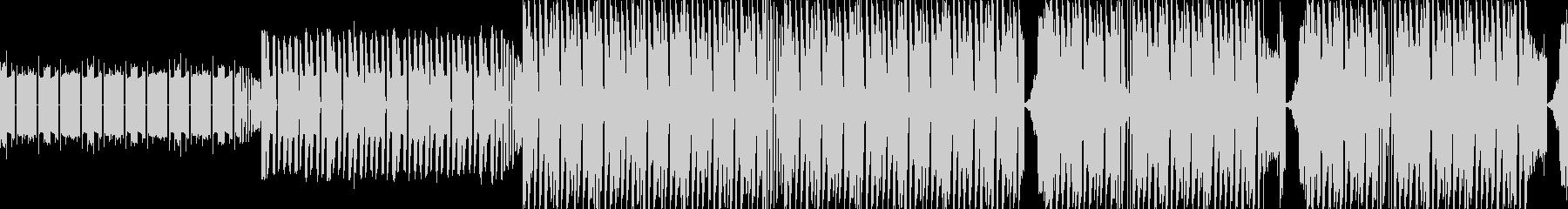【ほのぼのクイズ考え中エレクトロニカ】の未再生の波形