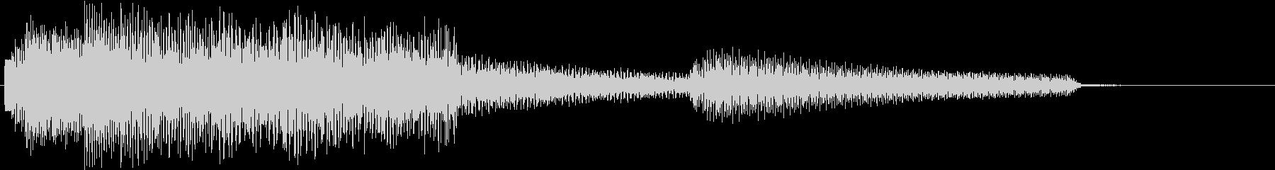 ジャジーでお洒落なエレピのジングルの未再生の波形