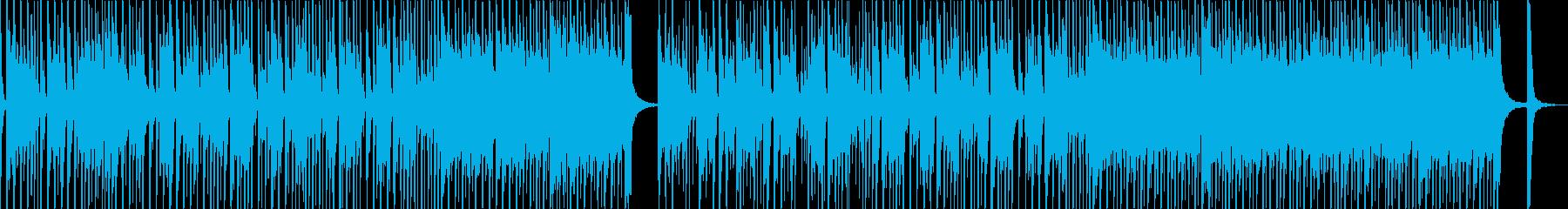 お洒落なテクノポップスの再生済みの波形