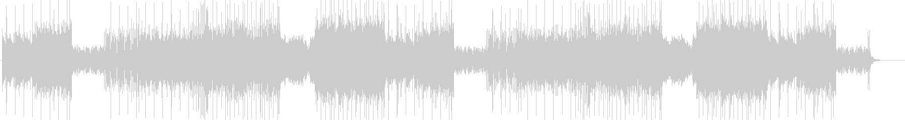 「DARK/ROCK」BGM330の未再生の波形