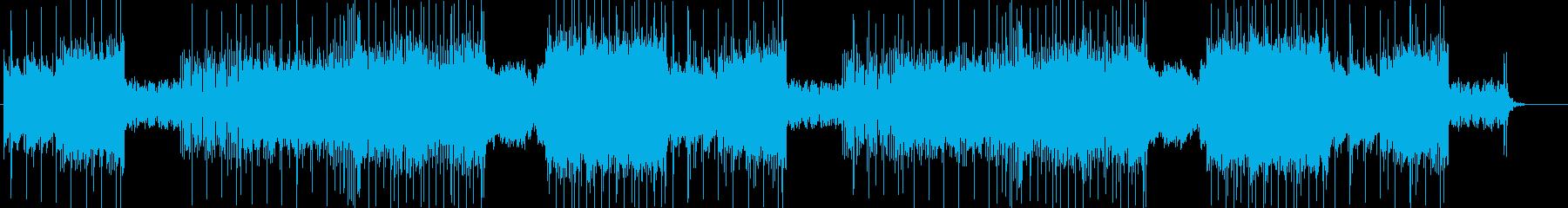 「DARK/ROCK」BGM330の再生済みの波形