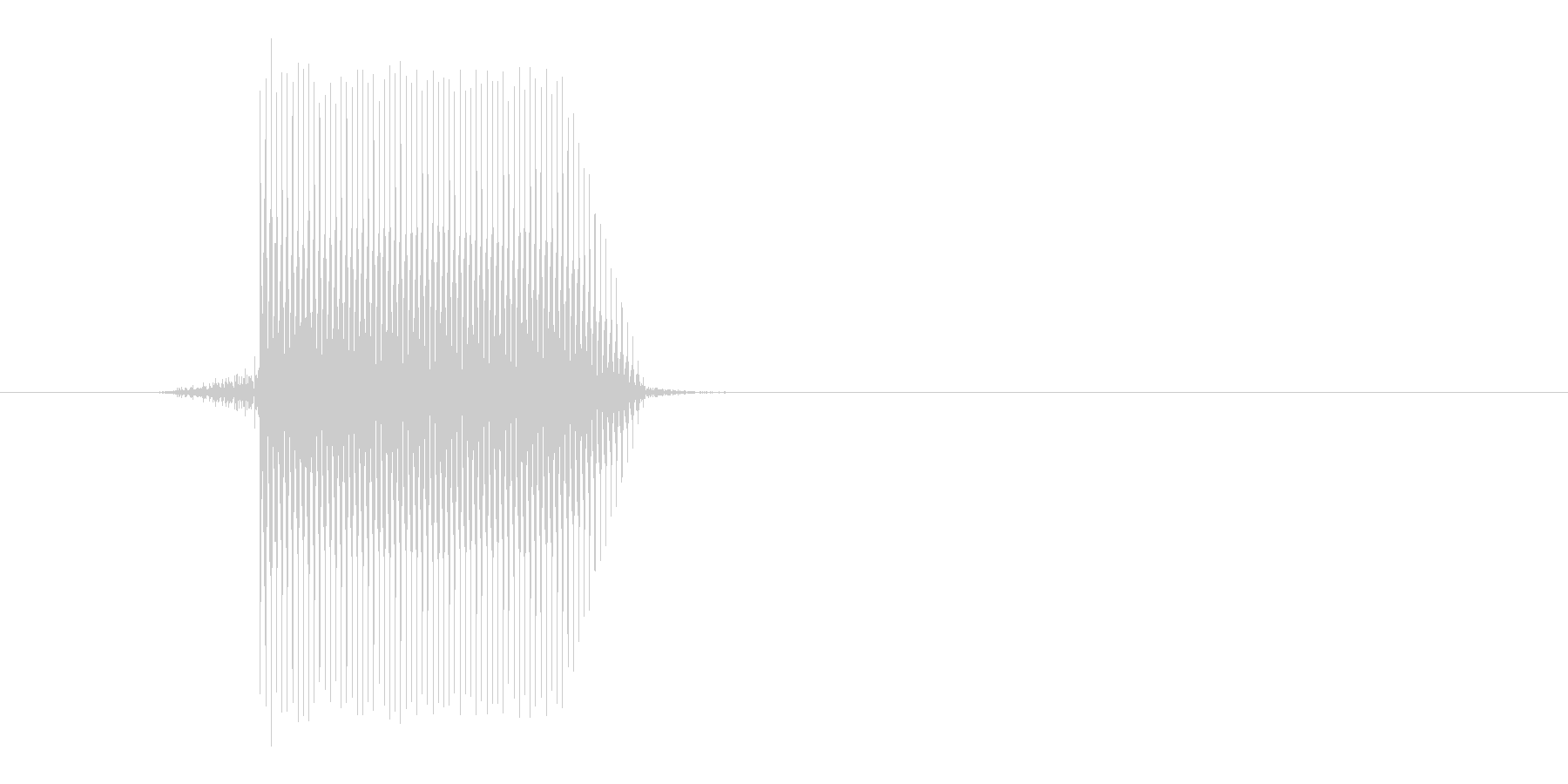 ゲーム(ファミコン風)セレクト音_044の未再生の波形