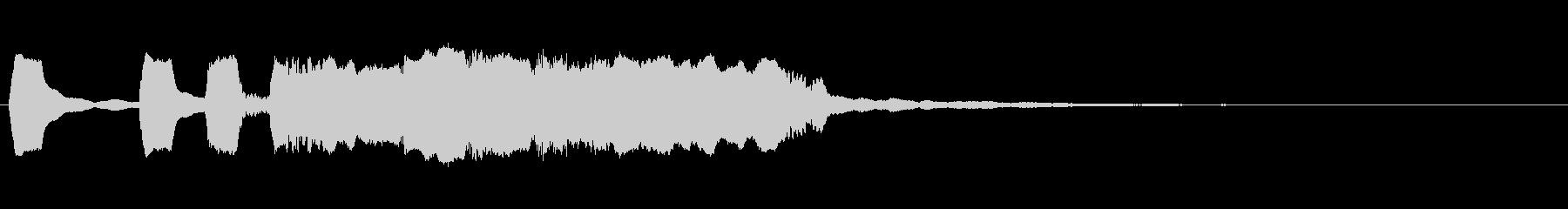 ケルトジングル 2 ホイッスル2管のみの未再生の波形