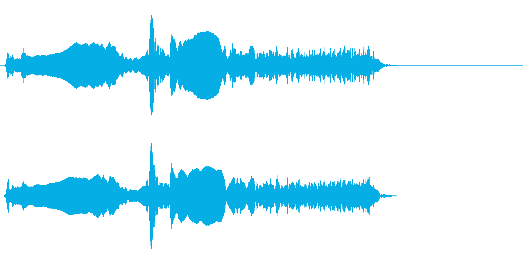 尺八 生演奏 古典風#7の再生済みの波形
