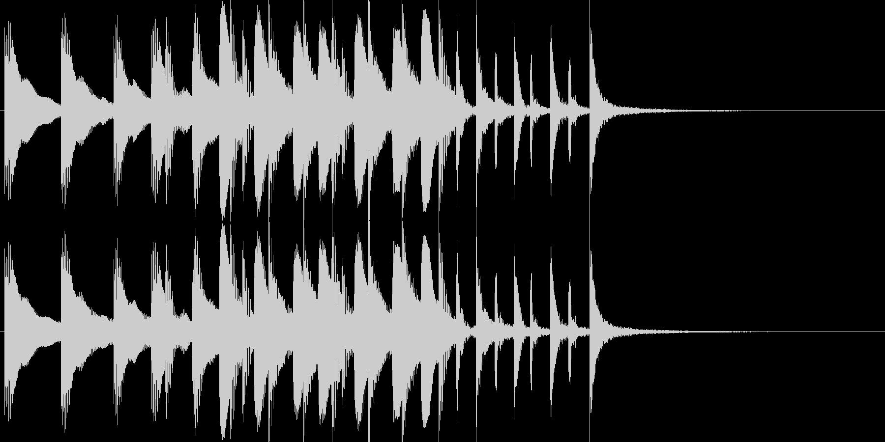 ドラム/ティンバレス フィルイン 22の未再生の波形