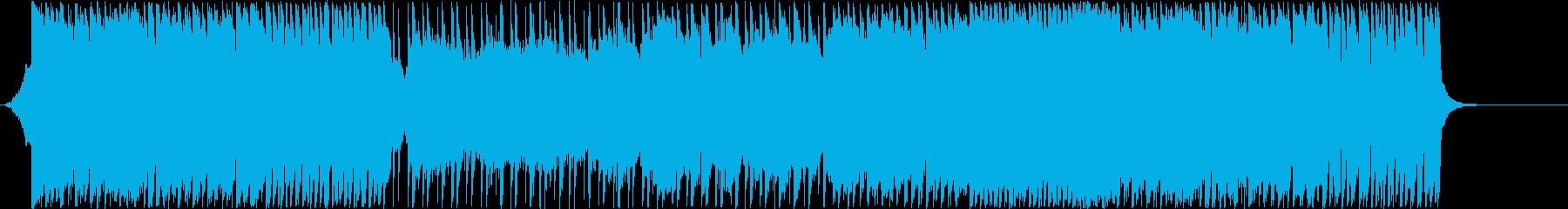 幻想的な3/4拍子のアイリッシュの再生済みの波形