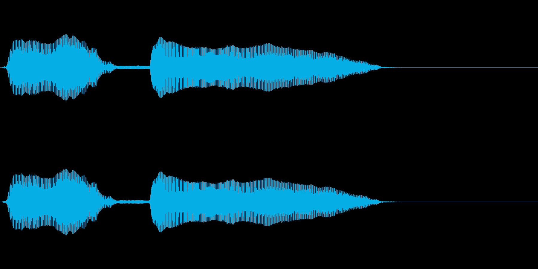 オーノー!(OhNo)の再生済みの波形