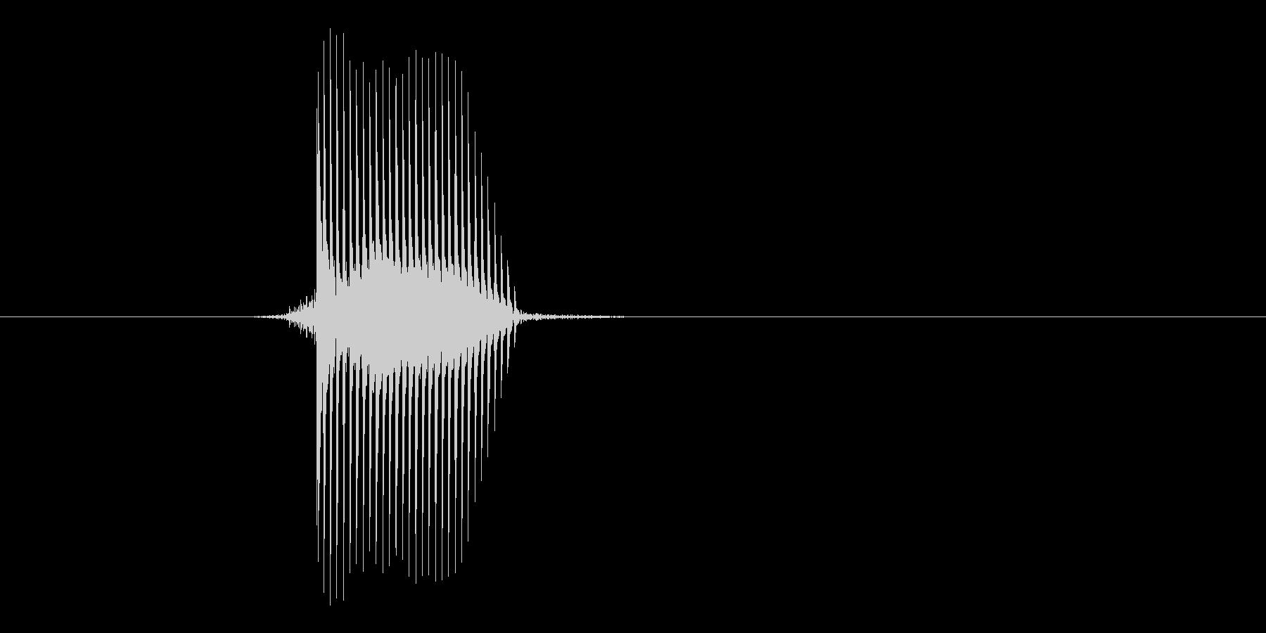 ゲーム(ファミコン風)セレクト音_043の未再生の波形