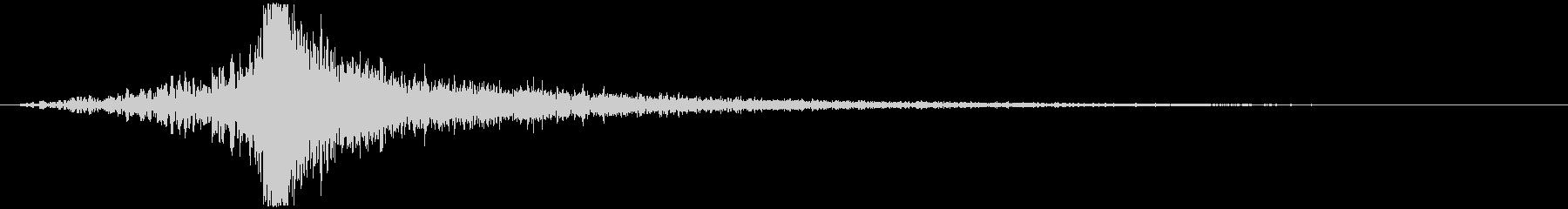 【インパクト】壮大なヒット音_02 の未再生の波形