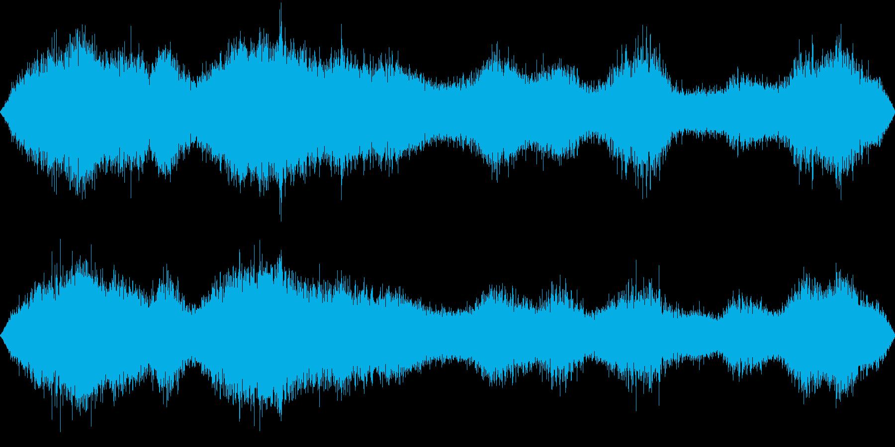 死後の世界の再生済みの波形