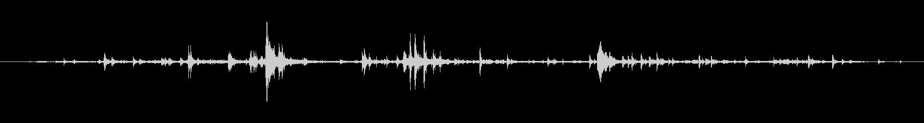 ハーネス ゲット・アップ04の未再生の波形