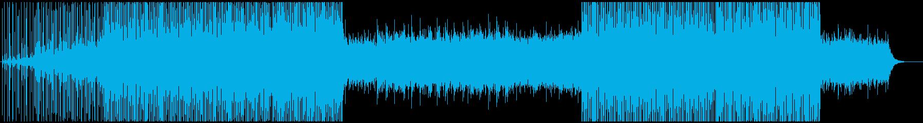 トライバル系クラブミュージックの再生済みの波形