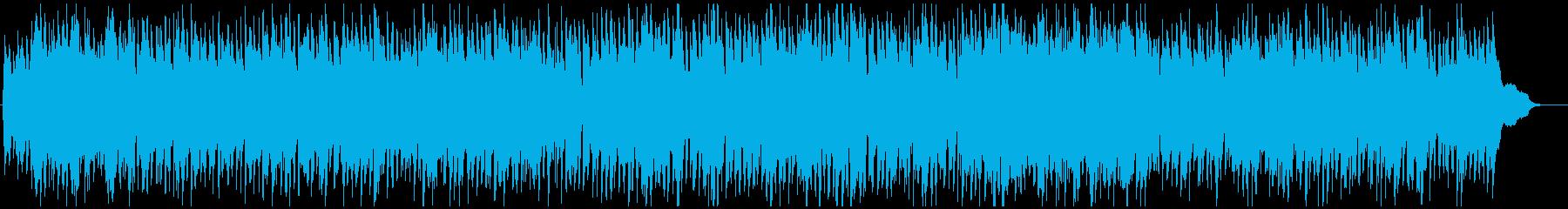 ほのぼのとしたケルティック風BGMの再生済みの波形