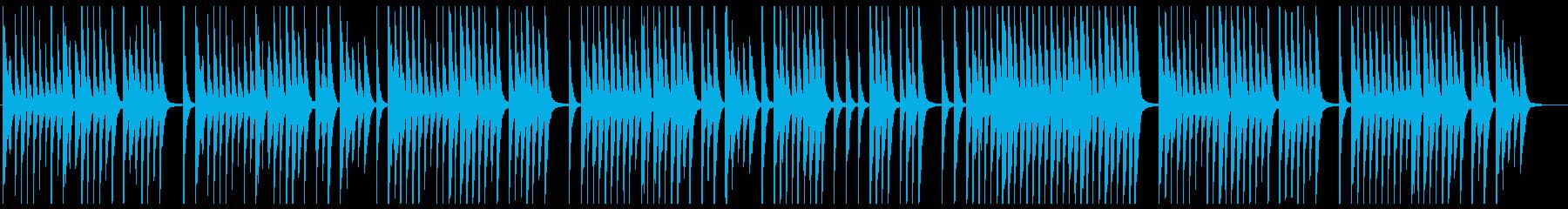 哀愁のあるバイオリン(ピチカート奏法)の再生済みの波形