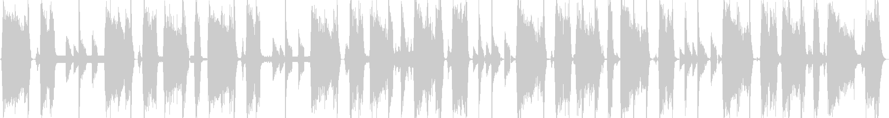 怪しい電波キャッチの未再生の波形