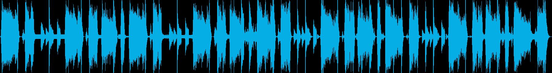 怪しい電波キャッチの再生済みの波形