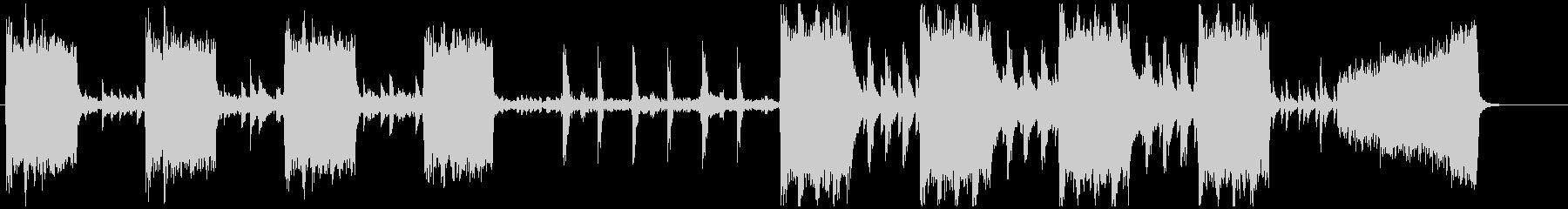 暴力的なチェロ ダークなエレクトロの未再生の波形