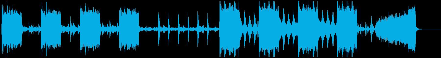 暴力的なチェロ ダークなエレクトロの再生済みの波形