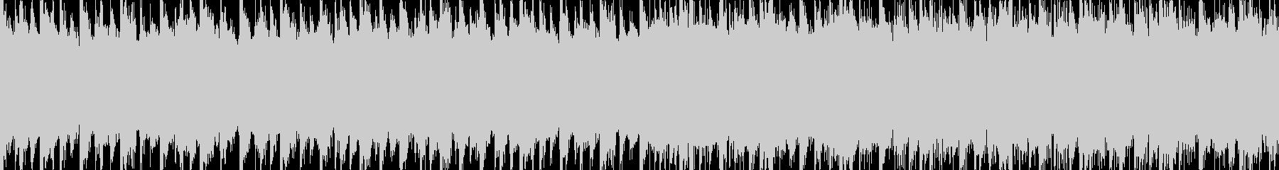 スケールの大きいピアノメインのBGMの未再生の波形