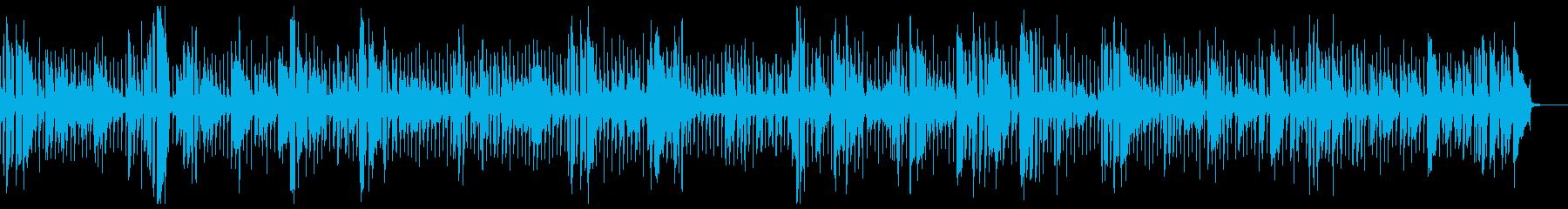 トロンボーンが主役の再生済みの波形