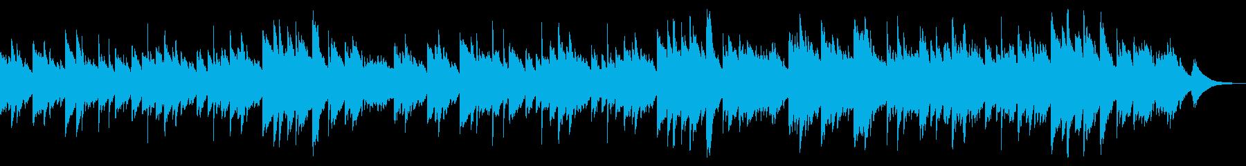 『きよしこの夜』を癒しのチェレスタでの再生済みの波形