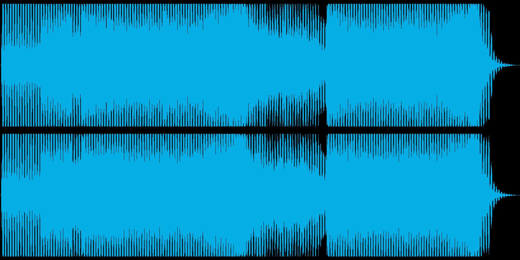 お洒落なEDM/ダンスミュージックの再生済みの波形