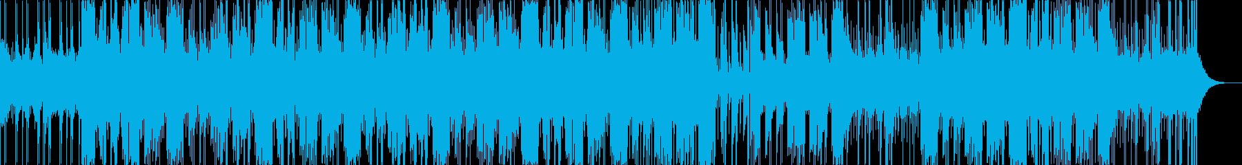 メロウなHip Hop R&B BEATの再生済みの波形