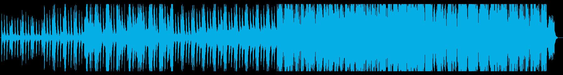 壮大で海賊っぽいオーケストラ楽曲の再生済みの波形