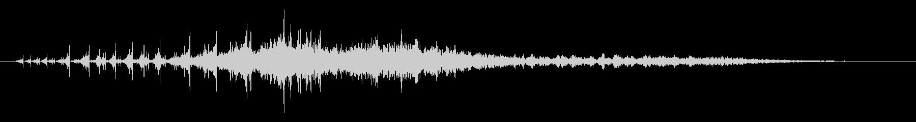 時間の停止や逆行などの抽象的な音#2の未再生の波形