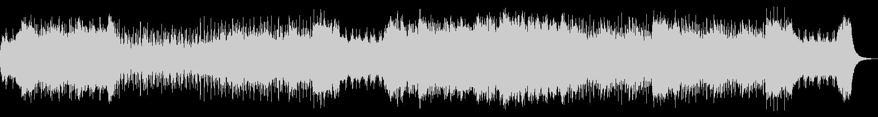コミカル可愛いゴシックホラーハロウィンの未再生の波形