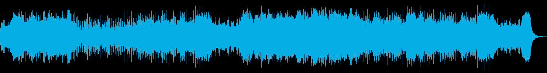 コミカル可愛いゴシックホラーハロウィンの再生済みの波形