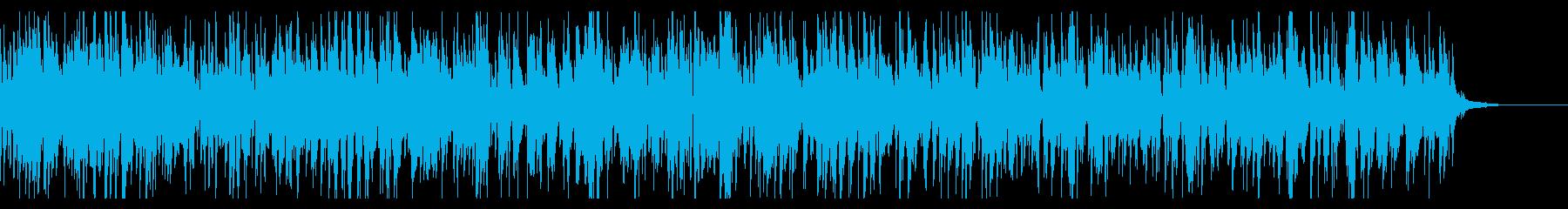 ラウンジのお洒落で落ちつくジャズピアノの再生済みの波形