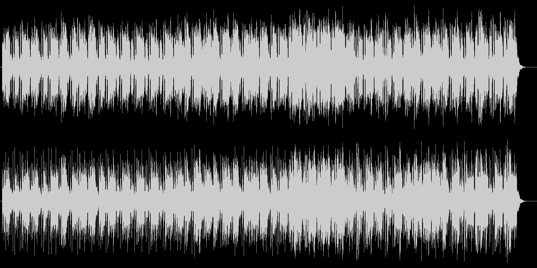 幻想的でメローなポップサウンドの未再生の波形